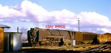 PHOTO  SOUTH AFRICAN RAILWAYS A NORTH BRITISH BUILT CLASS 25 CONDENSING 4-8-4 ON