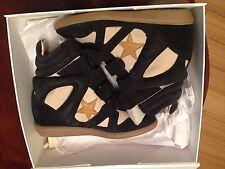 ISABEL MARANT High Top Sneaker Blau Beige Damen Schuhe Beckett Shoes Gr.39 NEU