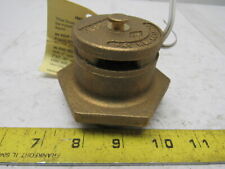 "JUSTRITE 2"" NPT Brass Drum Vent Dual Action Heavy Duty"