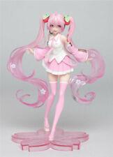 Anime Vocaloid Hatsune Sakura Miku Pintado Pvc Figura Modelo Juguete Nuevo En Caja