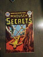 HOUSE OF SECRETS 117 VG-FINE DC 1974