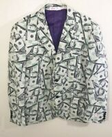 Oppo Suit Testival 80s Glam Shorts Suit Costume Outfit Neon Party Miami Vice NIB