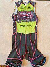 Team Hard Body Voler Cycling Padded Triathlon Skinsuit Singlet, Women's Medium