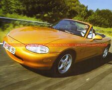MAZDA MX-5 MX5 1989 Fiche Auto #008976