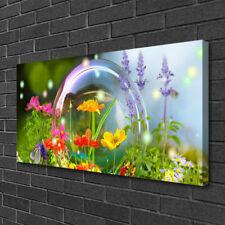 Photo sur toile Image Tableau Impression 100x50 Nature Fleurs