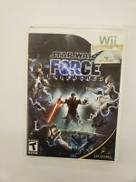 Star Wars: The Force Unleashed - Nintendo Wii Free Fast Shipping