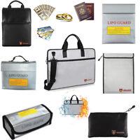Fireproof Bag Explosion-proof  Document Lipo Battery Business Handbag Briefcase
