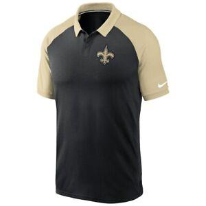 New Orleans Saints Nike Men Dri-Fit Polo NKBJ 054Y Size Large