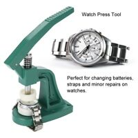 Watch Back Case Press Closer Watchmaker Crystal Glass Fitting Repair Tool New