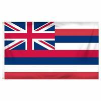 Hawaii 3ft x 5ft Printed Polyester Flag 3x5 HI State USA Island Aloha Dorm 100D