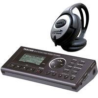 Tascam GB-10 Trainer Recorder für Gitarre + keepdrum Kopfhörer