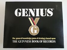 GENIUS GUINNESS BOOKS OF RECORDS - 1988 BOARD GAME - BOXED & COMPLETE