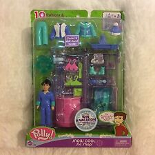 Polly Pocket Snow Cool Ski Shop Drew 19 Fashions and Accessories 4+ New