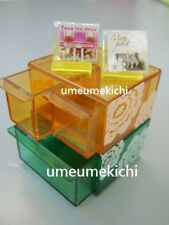 Re-ment dollhouse miniature storage case for CDs 2007