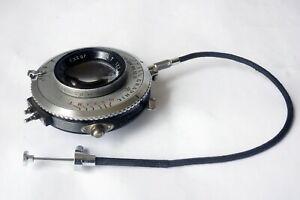 Kodak Ektar 127mm f/4.7 Lens w/ Graphic Supermatic Shutter Working Order USA