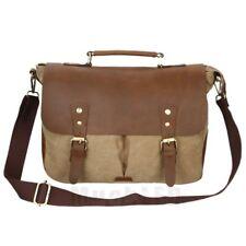 Vintage Style Men's Canvas Shoulder Casual School Military Messenger Travel Bag