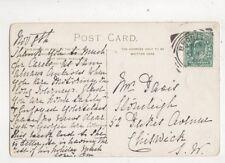 Bromley Kent Squared Circle Postmark 8 Nov 1904 441b