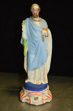 STATUE SAINT JOSEPH  EN BISCUIT  / 17.5 CMS DE HAUT