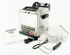 🔥WARING PRO DF175 1800w Brushed Stainless Steel Professional Deep Fryer🔥