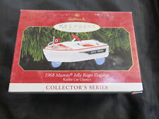 Vintage 1999 Hallmark Ornament Murray Jolly Roger Boat New In Box Kiddie Car #6
