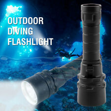 T41 U2 LED Diving Flashlight 18650 Torch 2 Modes Light Tactical Hunting Lamp 30w