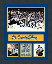St. Louis Blues 2019 Stanley Cup Champions Framed Photo Collage Frames By Mail