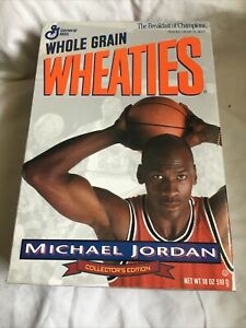 1993 Wheaties empty Cereal Box Michael Jordan #2