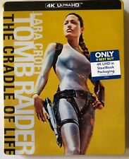 NEW TOMB RAIDER THE CRADLE OF LIVE 4K ULTRA HD BLU RAY BEST BUY EX STEELBOOK