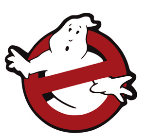 PVC Ghostbusters No Ghost Movie VELCRO® BRAND Hook Fastener Patch