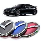 3d K Logo Trunk Rear Emblem Black Blue Red For Hyundai Genesis Coupe 2013