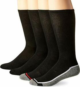 Hanes Men's X-Temp Active Cool Crew 4 Pairs Socks -  FREE SHIPPING