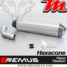 Silencieux Pot échappement Remus Hexacone titane sans catalyseur BMW F800ST 2011
