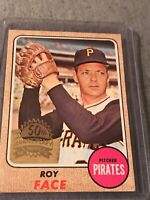 Roy Face  1968 Topps 50th Anniversary 2017 Buyback Stamped PIRATES