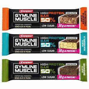 Enervit High Protein Bar 50% Barrette Proteiche 60gr Palestra Sport Integratori