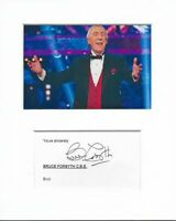 Bruce Forsyth Strictly Come Dancing genuine authentic hand signed autograph COA