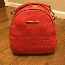 Steve Madden Coral New Mini Backpack Small Bag Shoulder Purse  MSRP $78