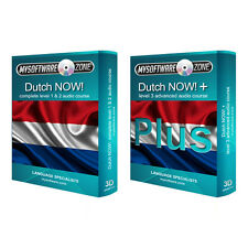 Learn to Speak Dutch Language Fluently Value Pack Course Bundle Level 1 2 & 3