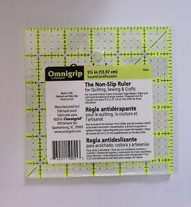 Inch Lineal Omnigrip 5 1/2 x 5 1/2 Inch Rutschfest Quadrat Diagonale Dreiecke
