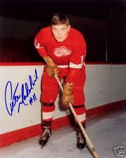 Pete Mahovlich Detroit Red Wings SIGNED 8x10 Photo COA!