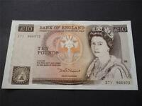 1980 SOMERSET £10 NOTE IN UNCIRCULATED CONDITION, DUGGLEBY REF: B346. 1980 £10.