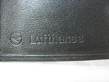 Original vintage Lufthansa ( Prägestempel ) Leder Brieftasche / leather wallet