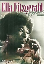 RARE / DVD - ELLA FITZGERALD : LIVE AT MONTREUX 69 / CONCERT / COMME NEUF