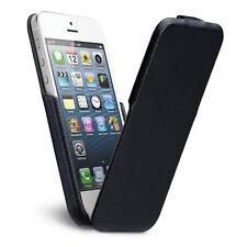 NEW CASE-MATE SIGNATURE IPHONE 5 5S SE LEATHER FLIP CASE COVER BLACK CM022808