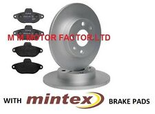 FIAT 500 1.2 8V (2008-) FRONT BRAKE DISCS AND PREMIUM MINTEX BRAKE PADS FULL SET