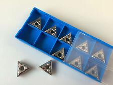 10 Pieces TNMG160404 Tungsten Carbide Turning Inserts New for Aluminium