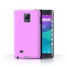 Housses et coques anti-chocs rose Pour Samsung Galaxy Note 4 pour téléphone mobile et assistant personnel (PDA)