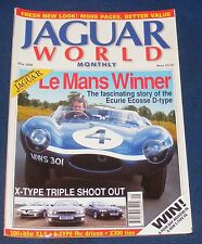 JAGUAR  WORLD MONTHLY MAY 2002 - LE MANS WINNER/X-TYPE TRIPLE SHOOT OUT