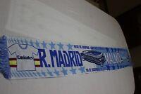BUFANDA FUTBOL CHAMPIONS LEAGUE REAL MADRID Y MAOLMO MUY COTIZADA  SCARF