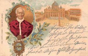 Vatikan: Papst Litho gl1902 148.027