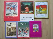 SPANISH HC LOT 6~Murmullos bajo la cama~PULGARCITO~La cenicienta~La Canción mas~